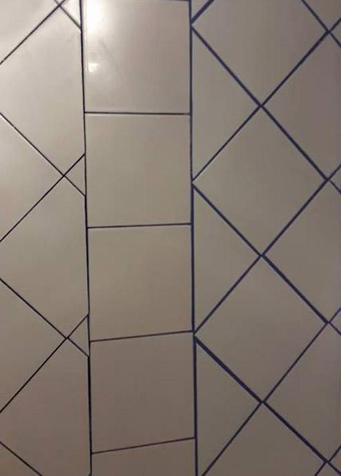 Pose de faience salle de bain