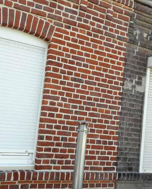 Rejointoiement facade Nord